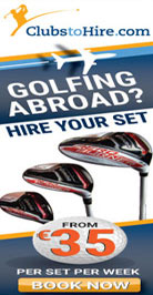 Golf Clubs to hire