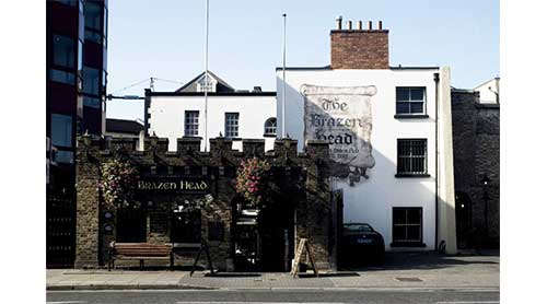 Brazen Head Dublin's Most Haunted Pubs