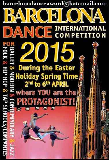 Whats on in Dublin - Europe Choreography Competitions