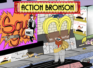 Action Bronson Live Concert in The Academy Dublin Ireland
