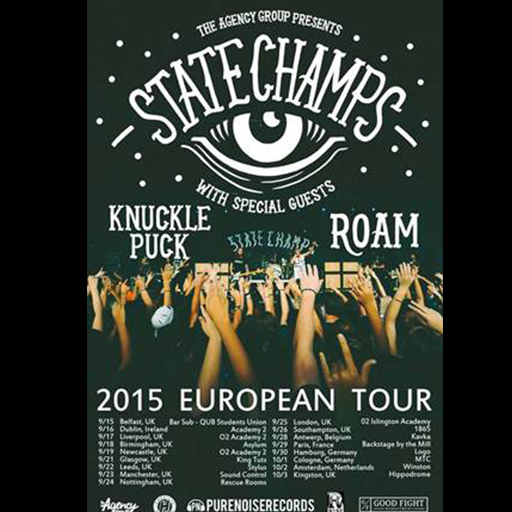 State Champs Live Concert in The Academy 2 Dublin Ireland