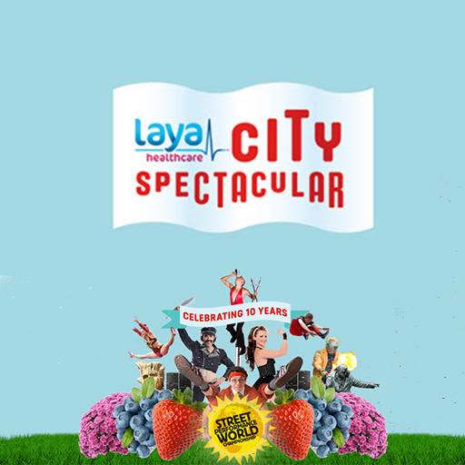 Celebrating 10 Years of Laya Healthcare's City Spectacular Festival 2015