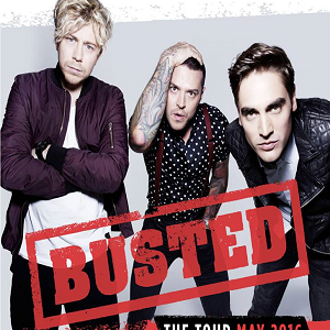 Busted Live Concert at 3Arena Dublin Ireland