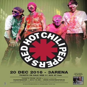 Red Hot Chili Peppers Concert at 3Arena Dublin Ireland