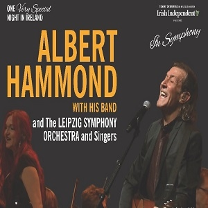 Albert Hammond Concert at 3Arena Dublin Ireland