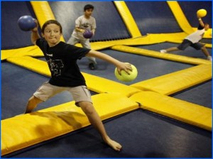 Jump Zone Indoor Trampoline Park - activities for kids in Dublin