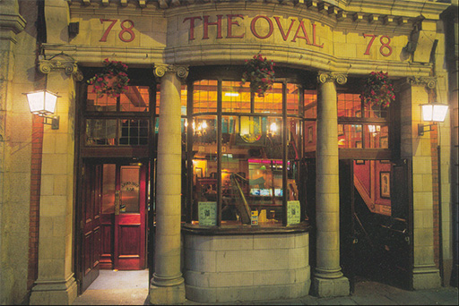 The Oval Bar