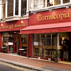 Cornucopia Wholefood and Vegetarian Restaurant Dublin Ireland