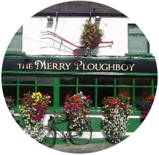 Traditional Irish Music and Dancing at Merry Ploughboy Dublin Ireland