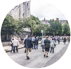 Pat Liddy's Walking Tours of Dublin Ireland