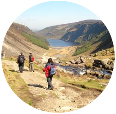 Activity day Tours of Wicklow from Dublin